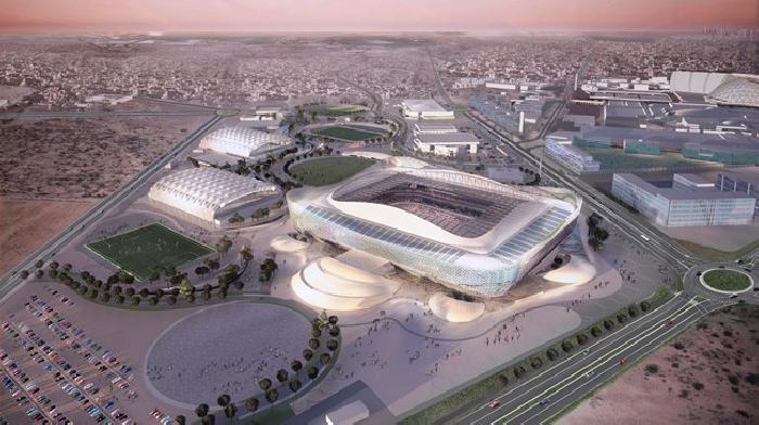 De bouw van het Al Rayyan Stadion in Qatar loopt 5 weken voor op schema