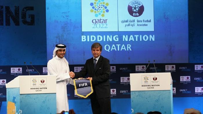 De inspectiegroep van de FIFA heeft Qatar bezocht op 17 september 2010 voor de organisatie van het WK 2022