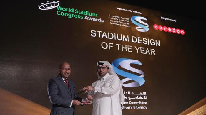Het Al Rayyan Stadion wint award voor Stadion Design van het jaar 2016