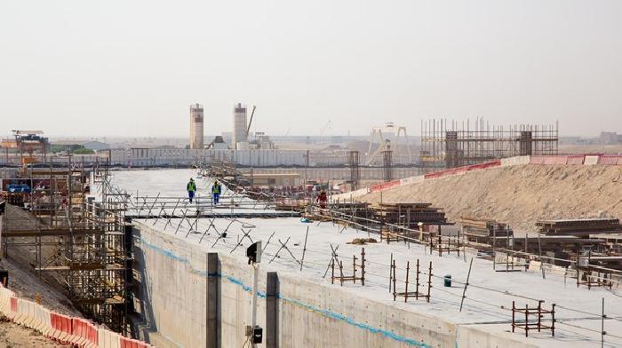 In 20min is het dak van het Al Bayt Stadion in Qatar dicht