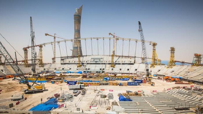 Khalifa International Stadion is als eerste gereed voor het WK 2022