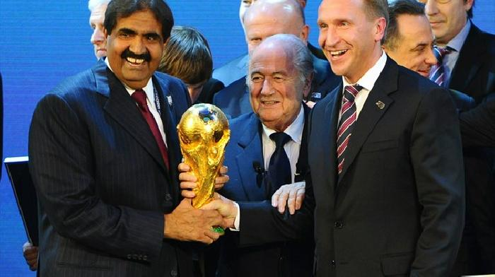 Qatar is verkozen tot organisator van het WK 2022, Nederland en Belgie zijn niet verkozen tot gastland