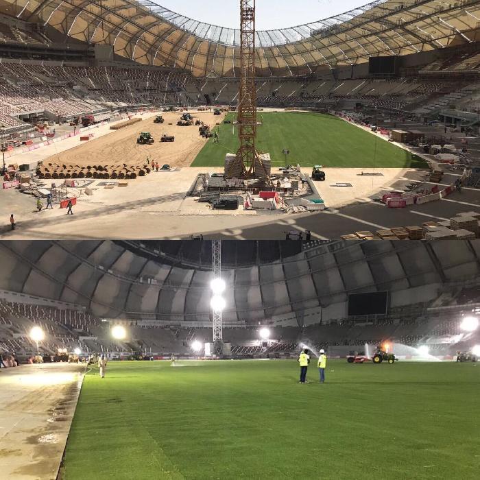Qatar snijdt in het budget voor de stadions van het WK 2022